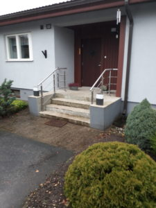 trepipiirded roostevabast terasest